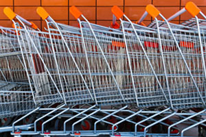 Shopping Trolley Containment