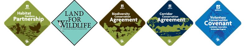 Landholder Conservation Partnership Program signs