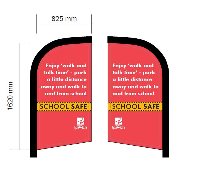 school-safe-flag-banner-red