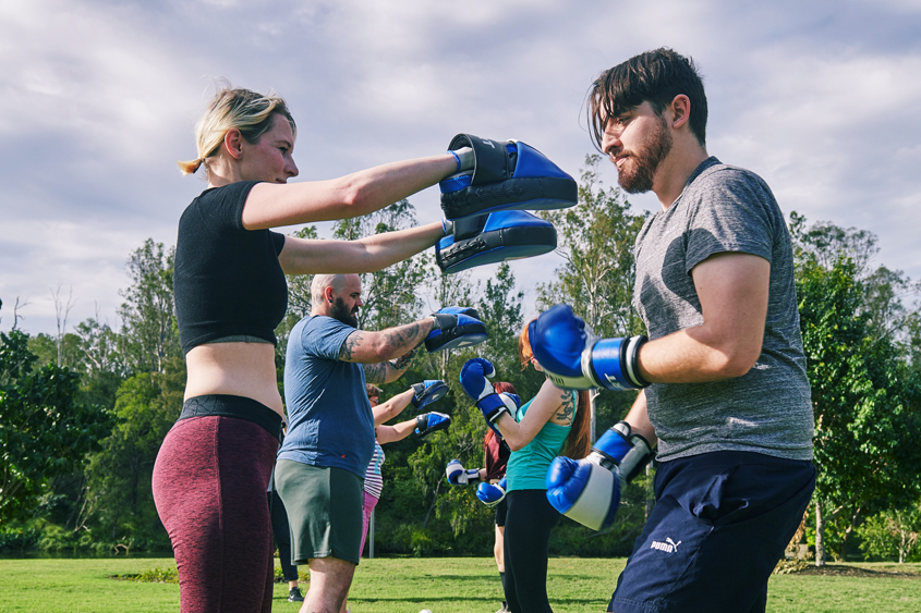 Boxing in the Park
