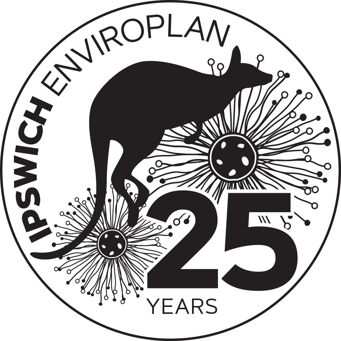 Enviroplan 25 years stamp