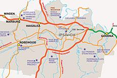 Maps Ipswich City Council