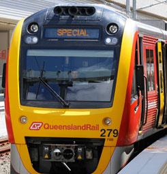 Train transport iGO