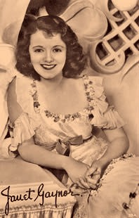 Janet Gaynor - First Face on Australian Television