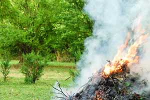 Open Air Fires and Smoke Pollution