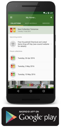 Ipswich Bin Day app for Android