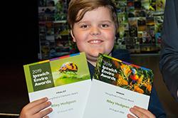 Young Enviro Champion award winner